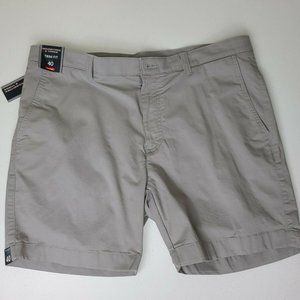Roundtree And Yorke Trim Fit Stretch Chino Shorts